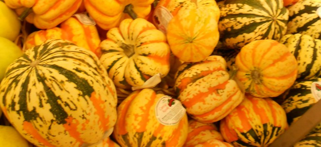 Pumpkin, melons