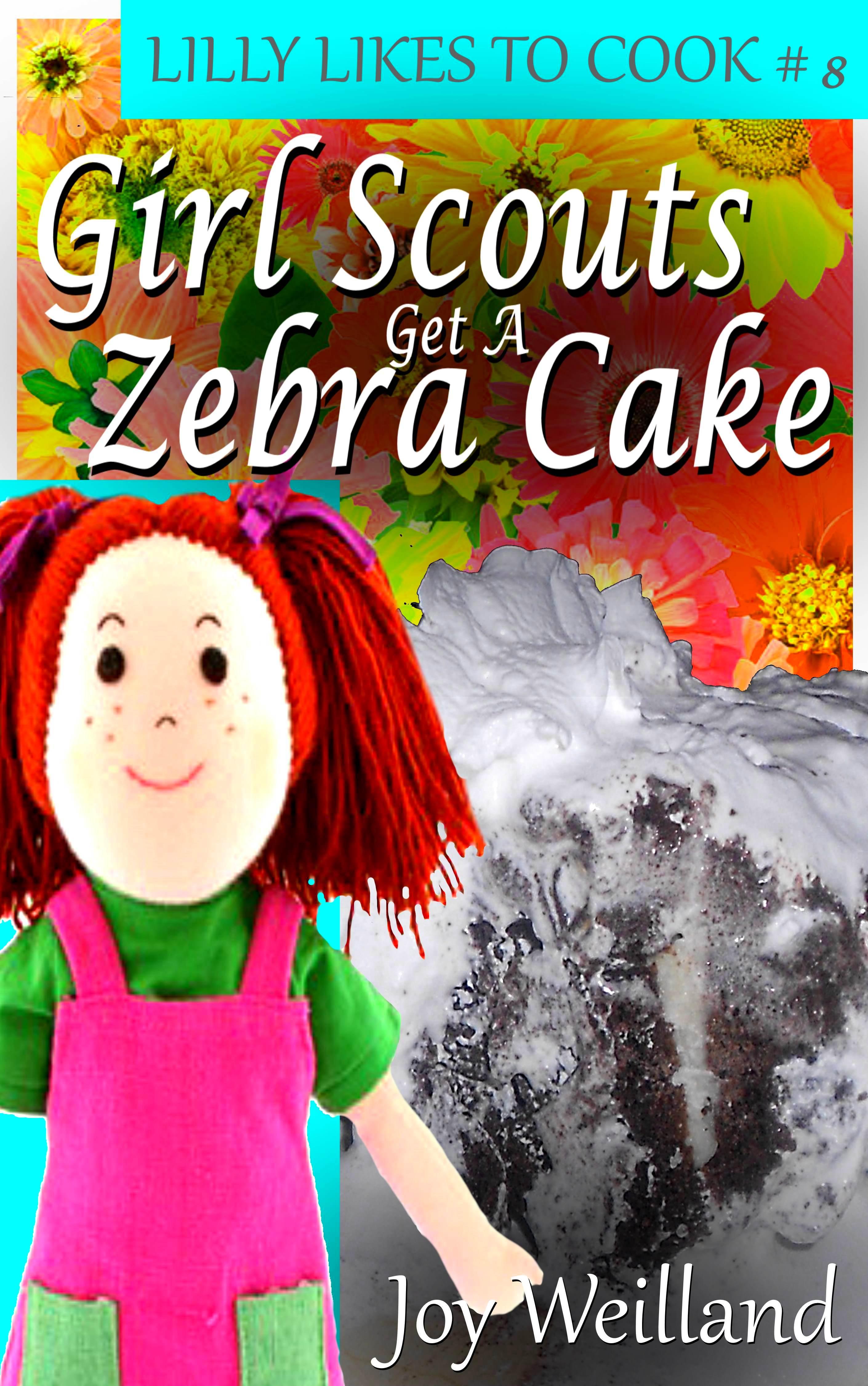 Girl Scouts Get a Zebra Cake